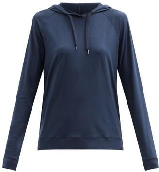 Derek Rose Basel 1 Modal-blend Hooded Sweatshirt - Navy