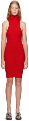 giu giu Red Nonna Mini Dress