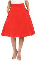 Unique Vintage Vivien Swing Skirt