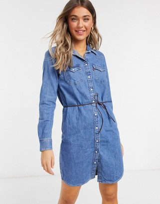 Levi's Ultimate Western Shirt Dress