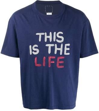 Visvim This Is The Life T-shirt