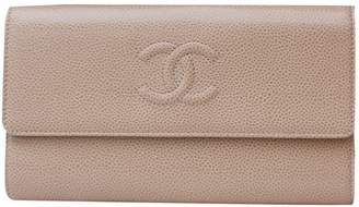 Chanel Camel Leather Wallets