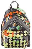 Versus Printed Nylon Backpack w/ Tags