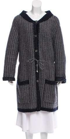 Chanel Cashmere Duster Cardigan