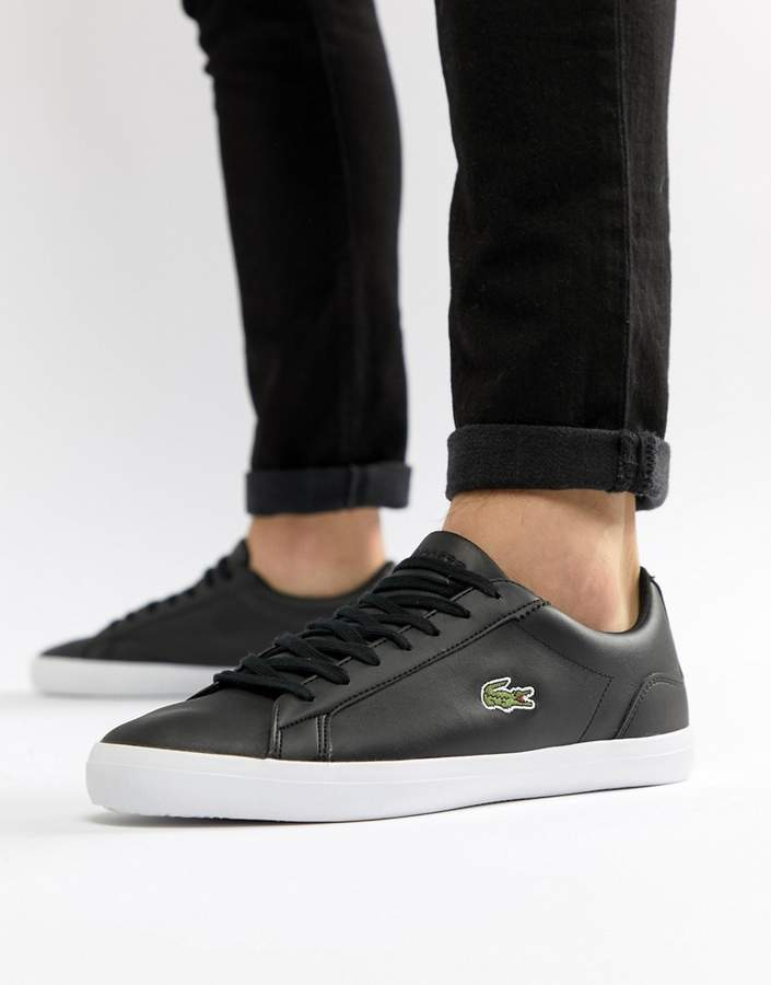 Lacoste Lerond Trainers In Black