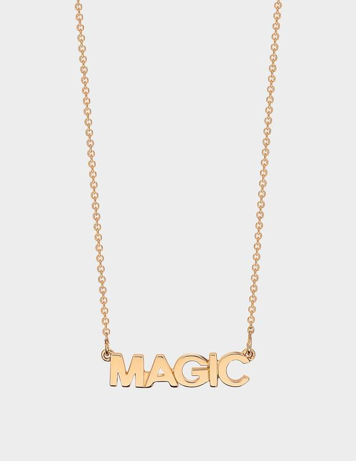 ginette_ny Fairy Magic Necklace in 18K Rose Gold