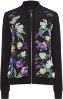 Karen Millen Floral Bomber Jacket