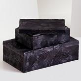 Natori Wood Grain Small Box