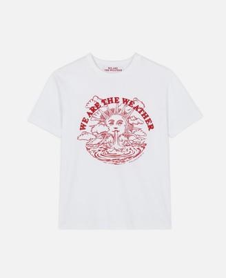 "Stella McCartney We are the weather"" T-shirt WATW capsule, Women's"