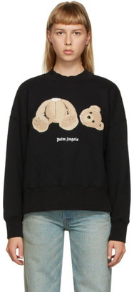 Palm Angels Black Bear Sweatshirt