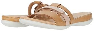 Ecco Flash Flat Slide (Powder/Rose Dust Cow Nubuck) Women's Shoes
