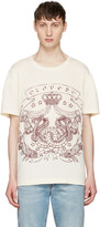 Gucci Ivory loved Logo T-shirt