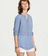 LOFT Lou & Grey Hazestripe Henley Shirt