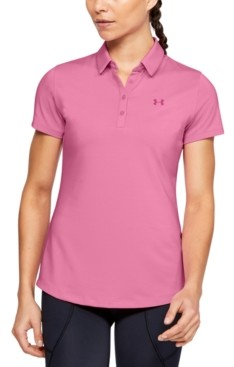 Under Armour Women's Ua Zinger Golf Polo
