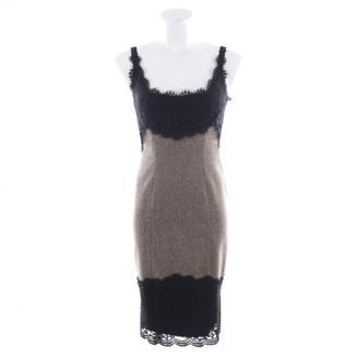 Diane von Furstenberg Beige Wool Dresses