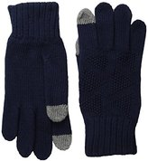 Ben Sherman Men's Textured Knit Glove