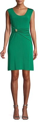 Roberto Cavalli Drape-Front Dress