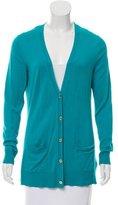 MICHAEL Michael Kors Long Sleeve Button-Up Cardigan