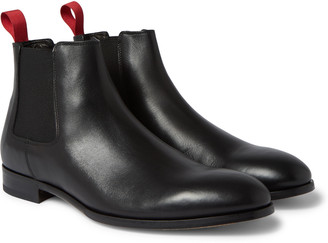 Paul Smith Crown Leather Chelsea Boots