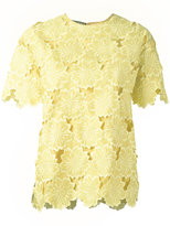 Rochas lace detailed blouse - women - Silk - 44