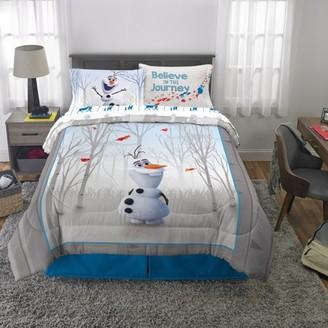 Disney Frozen Disneys Frozen 2 Olaf Kids Bed in a Bag Bedding Set w/ Reversible Comforter