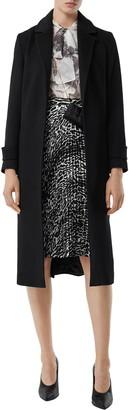 Burberry Sherringham Cashmere Wrap Coat