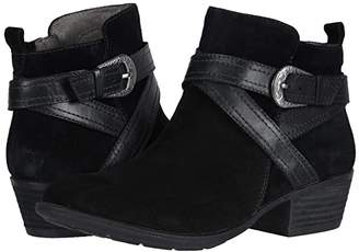 Earth Peak Porter (Black Premium Cow Suede/Soft Calf) Women's Shoes