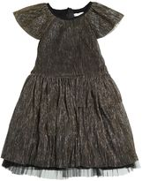 Little Marc Jacobs Stretch Tulle & Lurex Party Dress