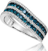 FINE JEWELRY LIMITED QUANTITIES Le Vian Grand Sample Sale 1 CT. T.W. White and Color-Enhanced Blue Diamond Ring