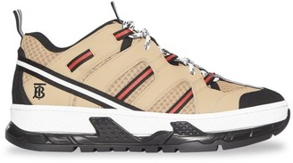 Burberry Union Chunky Hiker Trainer Sneakers