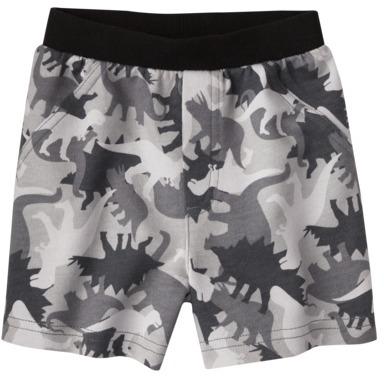 Circo Infant Boys' Dino Camo Shorts - Charcoal