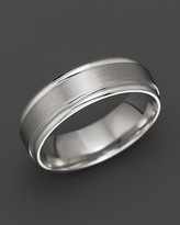 Bloomingdale's 14K White Gold Classic Wedding Ring - 100% Exclusive