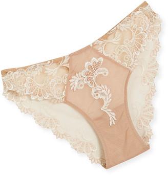 Lise Charmel Dressing Floral Lace Italian Bikini Briefs