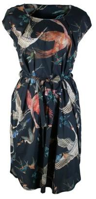 Format Lock Dress - birds / S