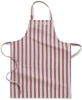 Williams-Sonoma Personalized Stripe Adult Apron, Claret