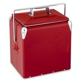Williams-Sonoma Williams Sonoma Vintage Red Cooler