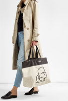 Karl Lagerfeld Printed Canvas Tote