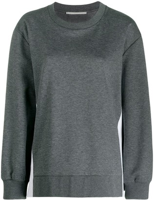 Stella McCartney Logo Stripes Sweatshirt