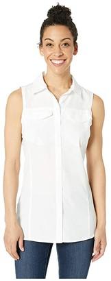 Columbia Silver Ridgetm Lite Sleeveless (White) Women's Sleeveless
