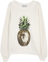 Wildfox Couture Party Pineapple Sommers Jersey Sweatshirt