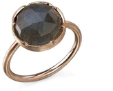 Irene Neuwirth Rose Cut Labradorite Ring in Rose Gold