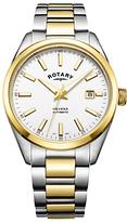 Rotary Havana Automatic Date Bracelet Strap Watch
