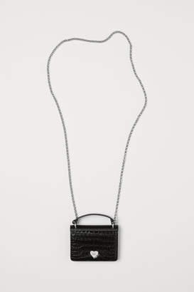 H&M Leather Mini Bag - Black