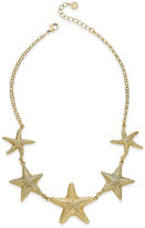 Charter Club Gold-Tone Starfish Collar Necklace, Only at Macy's