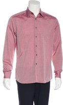 Prada Striped Woven Shirt