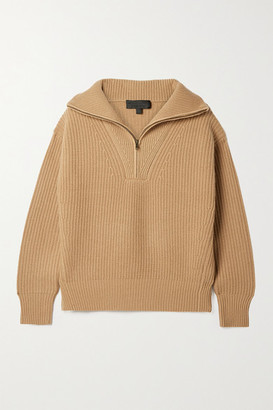 Nili Lotan Hester Ribbed Cashmere Sweater - small