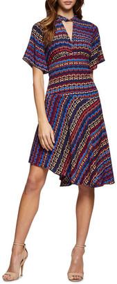 Oxford Francilla Geo Print Dress