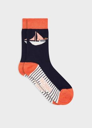 Hobbs Boat Dog Single Sock