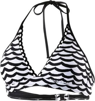 Seafolly Women's Tidal Wave Halter Bra Bikini Top