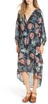 Astr Women's 'Florence' Floral Print Dress